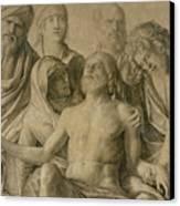 Pieta Canvas Print by Giovanni Bellini