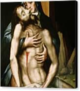 Pieta Canvas Print by Luis de Morales