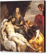 Pieta Canvas Print by Sir Anthony van Dyck