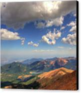 Pikes Peak Summit Canvas Print by Shawn Everhart