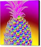 Pineapple Canvas Print by Eric Edelman