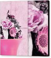 Pink Canvas Print by Angela Doelling AD DESIGN Photo and PhotoArt