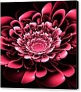Pink Flower Canvas Print by Anastasiya Malakhova