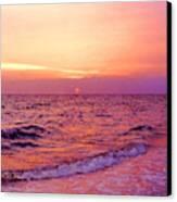 Pink Sunrise Canvas Print by Kristin Elmquist