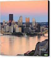 Pittsburgh 16 Canvas Print by Emmanuel Panagiotakis