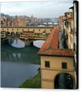 Ponte Vecchio Canvas Print by Warren Home Decor