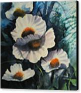 Poppies Canvas Print by Robert Carver
