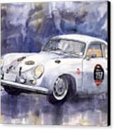Porsche 356 Coupe Canvas Print by Yuriy  Shevchuk