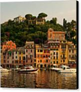 Portofino Bay Canvas Print by Neil Buchan-Grant