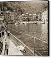 Portofino Italy From Solway Maid Canvas Print by Dustin K Ryan