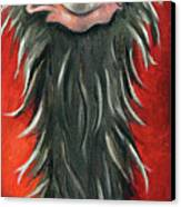 Poser 3 Canvas Print by Leah Saulnier The Painting Maniac