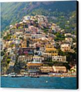 Positano  Canvas Print by Francesco Riccardo  Iacomino