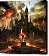Post Apocalyptic Disneyland Canvas Print by Alex Ruiz