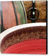 Pottery Abstract Canvas Print by Ben and Raisa Gertsberg