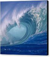 Powerful Surf Canvas Print by Ron Dahlquist - Printscapes