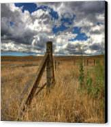 Prarie Sky Canvas Print by Peter Tellone