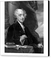 President John Adams Canvas Print by War Is Hell Store