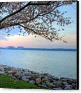 Pretty Potomac Canvas Print by JC Findley