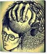 Prevent The Free Expression Canvas Print by Paulo Zerbato