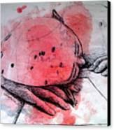 Process Of Inspiration Canvas Print by Paulo Zerbato