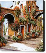 Profumi Di Paese Canvas Print by Guido Borelli