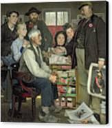 Propaganda Canvas Print by Jean Eugene Buland