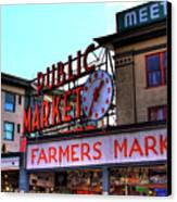 Public Market II Canvas Print by David Patterson