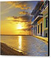 Puerto Rico Montage 1 Canvas Print by Stephen Anderson