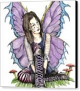 Purple Laces Canvas Print by Preston Shupp