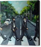 Rabbi Road Canvas Print by Valerie Vescovi