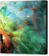 Rainbow Orion Nebula Canvas Print by The  Vault - Jennifer Rondinelli Reilly