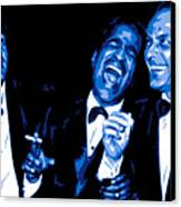 Rat Pack At Carnegie Hall Canvas Print by DB Artist
