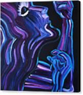 Reach Canvas Print by JoAnn DePolo
