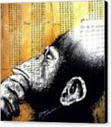 Reasoning Logical Mathematical Canvas Print by Paulo Zerbato