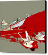 Red Racer Canvas Print by David Lee Thompson