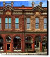 Redmens Hall - Jacksonville Oregon Canvas Print by James Eddy