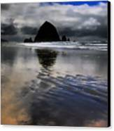 Reflected Glory Canvas Print by David Patterson