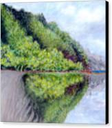 Reflection Canvas Print by Kenneth Grzesik