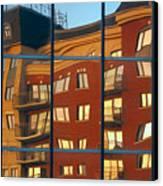 Reflection Le Selection Canvas Print by Elisabeth Van Eyken