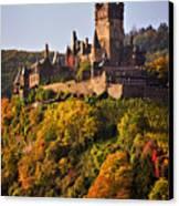Reichsburg Castle Canvas Print by Louise Heusinkveld