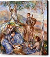 Renoir: Grape Pickers Canvas Print by Granger