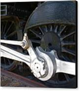 Retired Wheels Canvas Print by Todd Kreuter