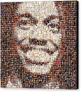 Rg3 Redskins History Mosaic Canvas Print by Paul Van Scott
