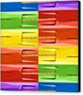 Road Runner Rainbow Canvas Print by Gordon Dean II