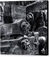 Rods Of Steel Canvas Print by Scott  Wyatt