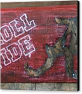 Roll Tide - Large Canvas Print by Racquel Morgan