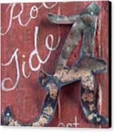 Roll Tide Canvas Print by Racquel Morgan
