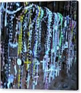 Rosary Canvas Print by Angela Wright