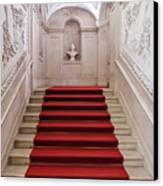 Royal Palace Staircase Canvas Print by Jose Elias - Sofia Pereira