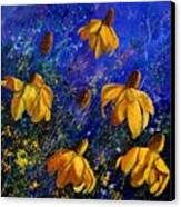 Rudbeckia's Canvas Print by Pol Ledent